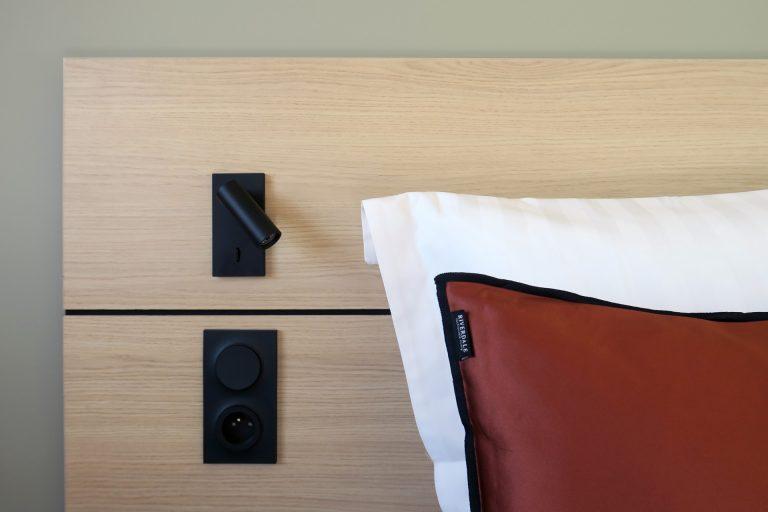 A l'Akena Hôtel Troyes, les chambres sont confortables et bien agencées