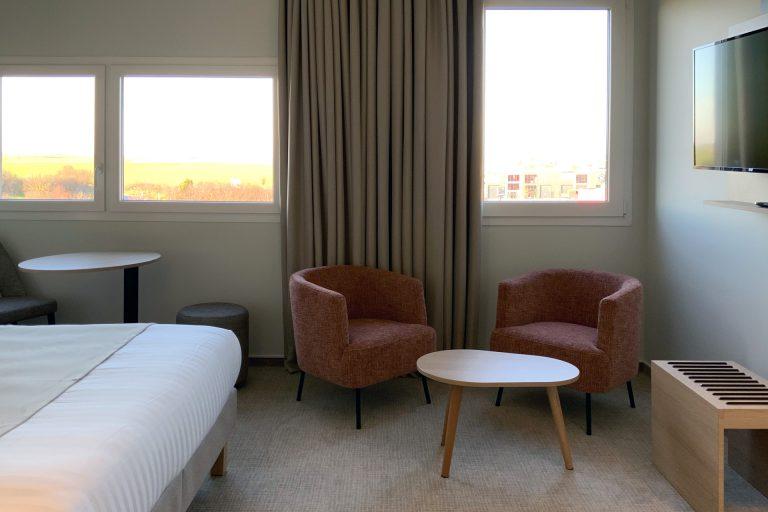 A l'Akena Hôtel Troyes, découvrez des chambres spacieuses et particulièrement bien équipées