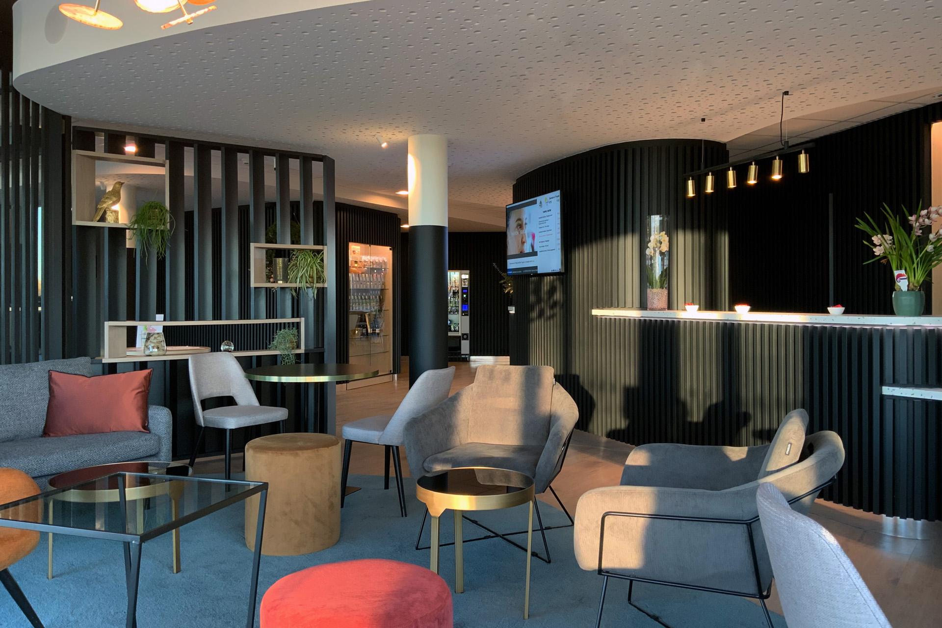 L'Akena Hôtel Troyes vous propose un salon calme et lumineux.