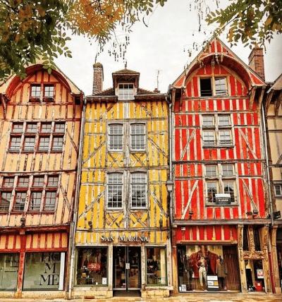 Post instagram de la ville de Troyes